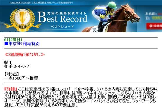 ベストレコード(Best Record)